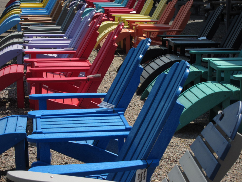 There Was A Time When A Folding Beach Chair, A Towel, Or Nothing At All Was  Enough To Keep You Comfortable While You Sat Outside For Hours At A Time.