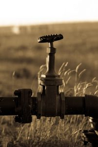 Irrigation knockout valve